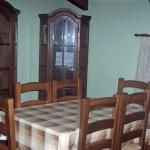 Mesa centro con 6 sillas